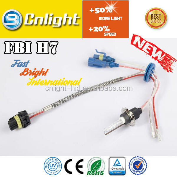 New arrival ! Cnlight factory price FBI H7 HID Xenon bulb 6000K