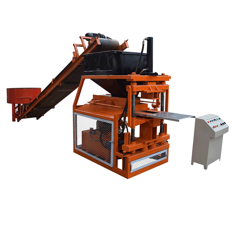 Full automatic clay tiger stone paving machine
