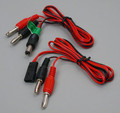 TX and RX Charge Cable Set for Futaba J Connector