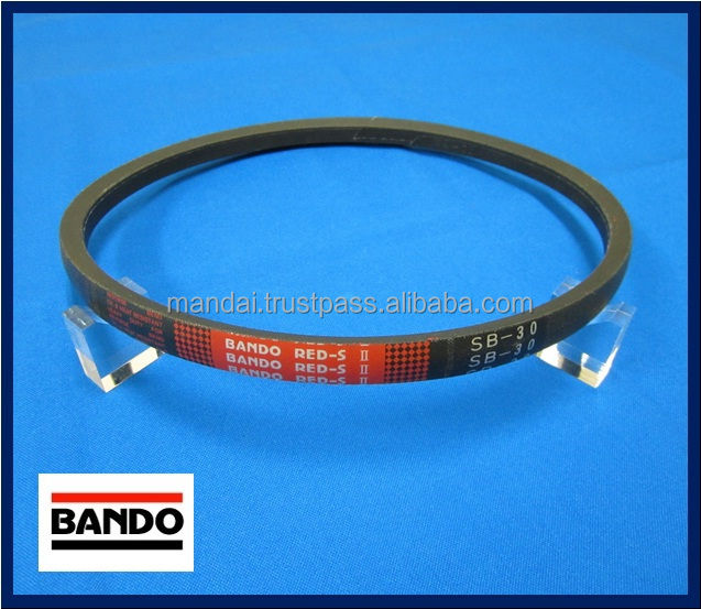 Reliable and Japanese BANDO Belt for used rice combine harvester