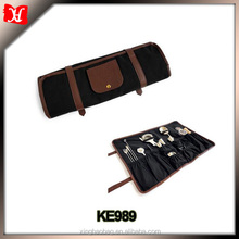 High quality bartender bag rolling tool bag Roll up Bartender tool bags