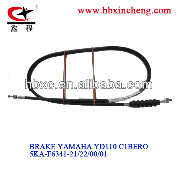 motorcycle brake cable YD110 for Colombia, motorcycle spare parts