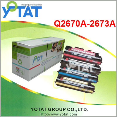 Toner cartridge Q2670/2671/2672/2673 for hp 3500N/3550N/3700DN