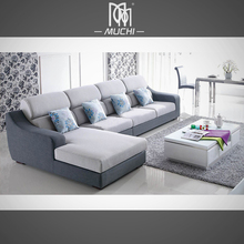 Fresh Style Cushion L Shaped Decoration Department Sofa Corner