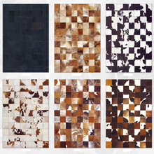 Hign quality Cow skin carpet