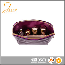 Low MOQ eco-friendly wholesale polyester cosmetic pvc bag