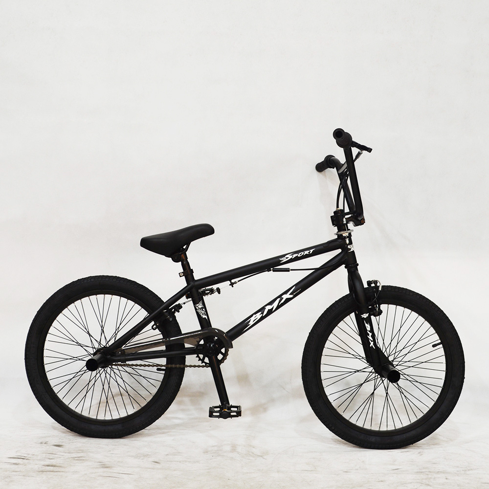 China supplier 20 inch hi-ten steel frame u brake Haro bmx bike black color