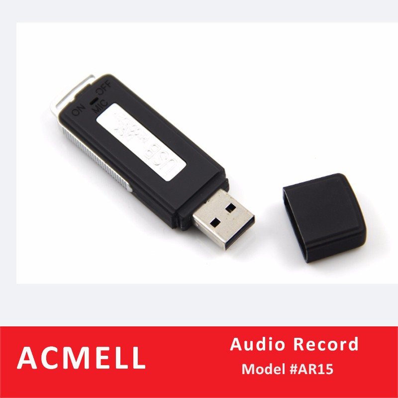 AR15 Voice Recorder 4GB 8GB Micro Hidden Voice Recorder Usb Disk Invisible High Sensitive Spy Voice Recorder