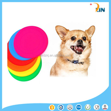 Wholesale manufactural 100% food grade joy silicone animal frisbee for dog