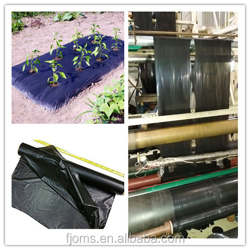 Floating row covers machine mulching films