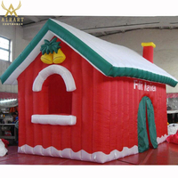 Christmas outdoor air cabin, customizable Christmas house