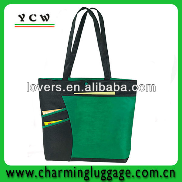 New design fashion leather tote bag