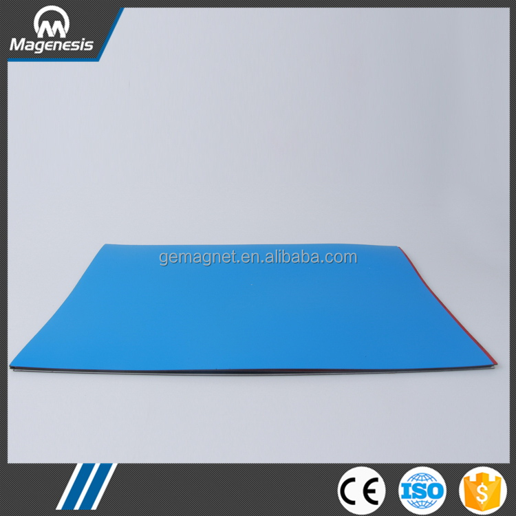 China gold manufacturer promotional rubber customized magnet for fridge
