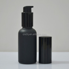 Sell 100ml frosted glass lotion bottle with lotion pump