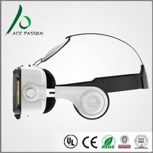 VR006 active imax 3d virtual reality glasses with Mechanic touch screen