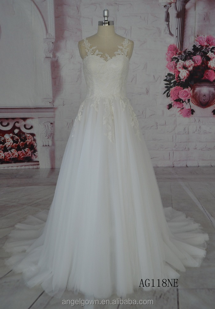 Guangzhou professional factory high quaality Wedding Dresses makers beaded wedding gowns