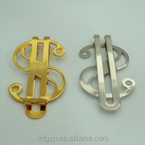 Gift items sliver dollar replica money clip