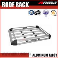 No noise universal aluminum auto car roof rack 4x4 luggage rack bar removable
