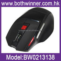 2.4g 10m usb driver wireless usb mouse ,H0T006 2.4g rf computer mouse , 7 Button most inexpensive wireless mouse