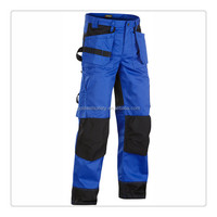 navy blue worker building pocket work weartrousers cargo chino pants