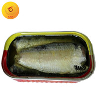 Canned sardine offers in vegetable oil 125g canned seafood canned food