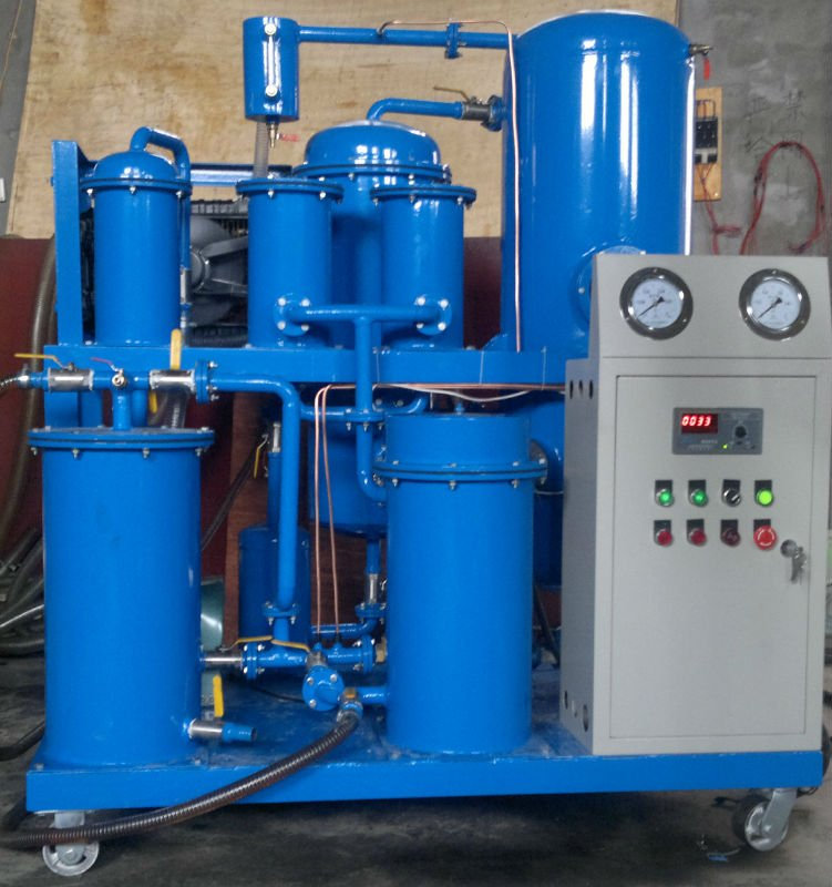 Low viscosity lube&engine oil recycling system