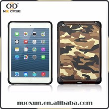 Fashion design for new for ipad camouflage leather case,for ipad 2 case girl