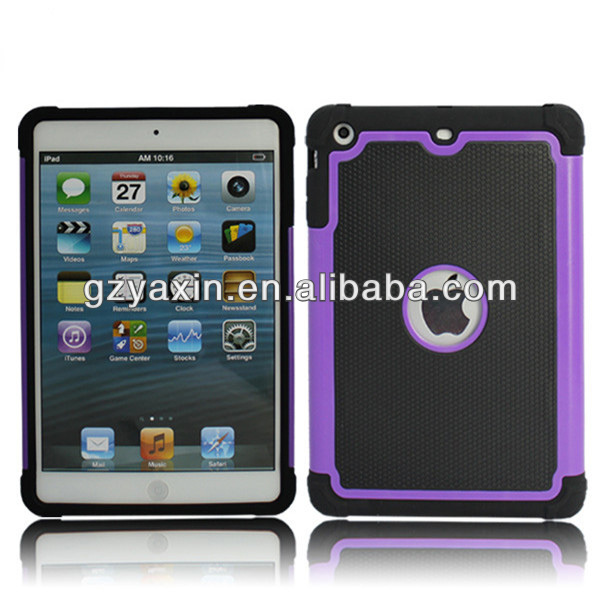 New fashion silicon cover case for ipad mini