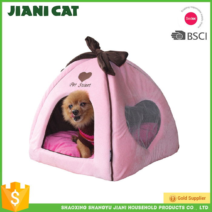 High Quality Proper Price Lucky Pet dog beds in pink