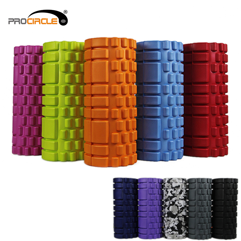 High Density Crossfit Mixed Size Muscle Massage Yoga Foam Roller
