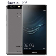 "2016 New Arrival Huawei P9 Mobile Phone 4/64GB 3/32GB Kirin 955 Android 6.0 5.2"" FHD 1080P 12.0MP Camera"