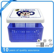 plastic square lunch box plastic dinner pail mess tin
