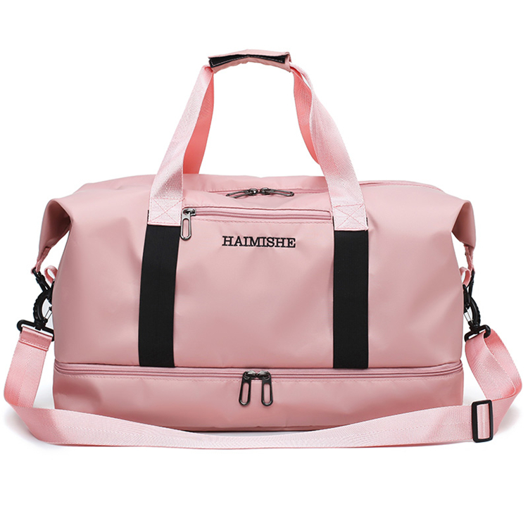 stock new luxury women fancy foldable business gym sports travel duffel bag