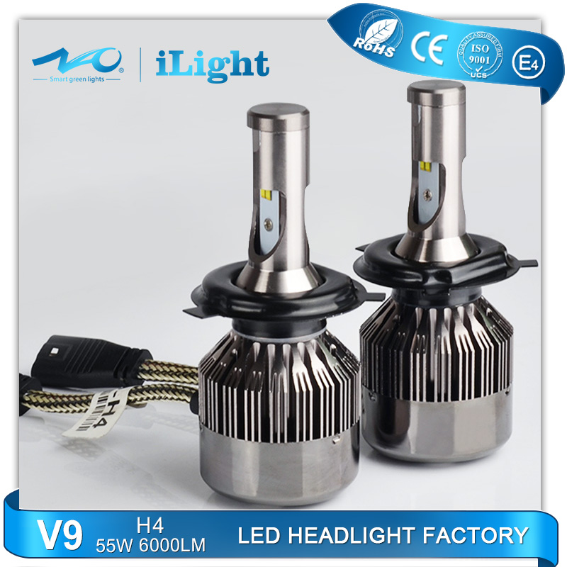 new design 55w 5500lm 24w 2400lm auto led headlights With Good Service