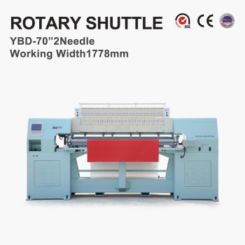 YBD70-2 Computerized rotary shuttle multi-needle quilting machine Thread broken Alarm