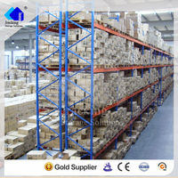 Nanjing jracking approved warehouse storage adjustable wholesale pallets racking for clothing