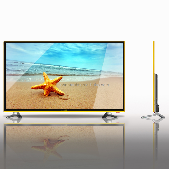 32''55''led tv monito FHD 1080P Television led tv with tempered toughen glass ready aluminum alloy cabinet led tv