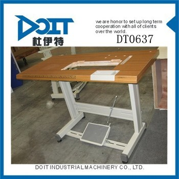 sewing machine table with lift
