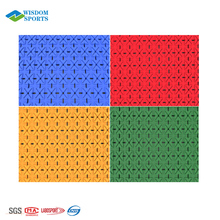 PP Plastic Sports Floor Covering Indoor Basketball Flooring For Buffer Requirement