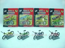 Diecast finger bicycle
