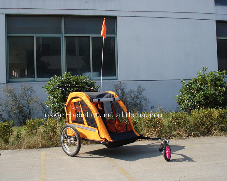 Bicycle Baby stroller and trailer of Aluminum