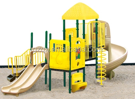 Nice CE kids outdoor playhouse slide outdoor toys for kids