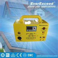 EverExceed 20W ups battery cabinet Solar Home System for home and outside