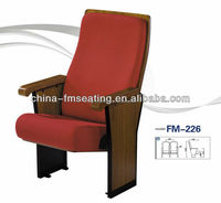 Fashion theater small fold up seat armrest FM-226