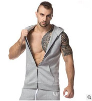 New Fashion Gym T-Shirt Custom Zip Up Hoodies