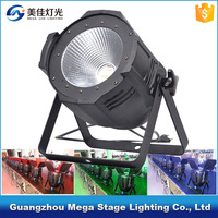 dmx stage light professional led par64 brightness 200w cob par light