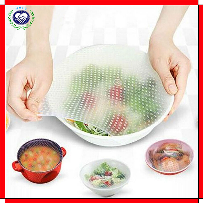Plastic Wrap Seal Vacuum Food Magic Wrap Multifunctional Food Fresh Kitchen Tool