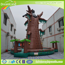 Outdoor inflatable climbing walls ,giant inflatable rock climbing wall,inflatable climbing mountain for kids
