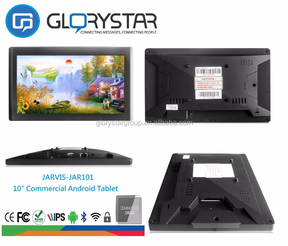 "Promotional 10"" lcd digital tablet screen video for advertising monitor"