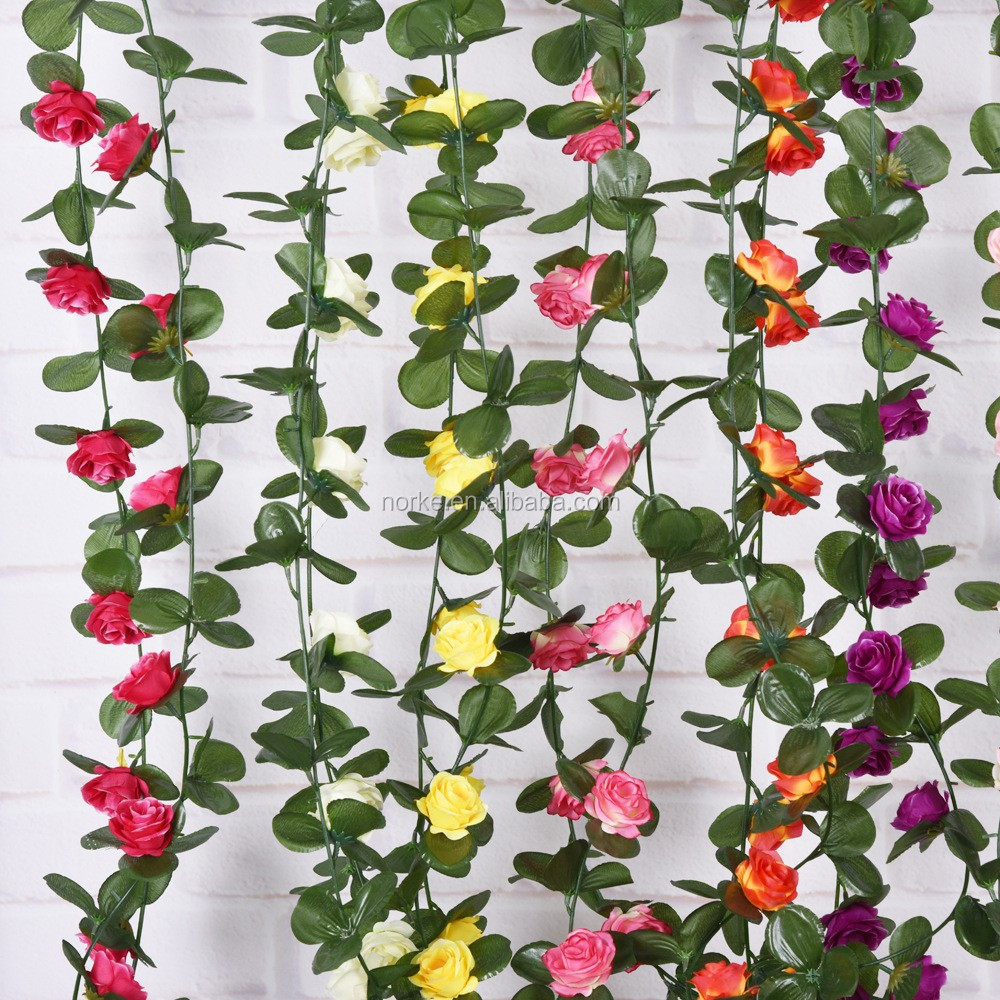 wedding rose flower garland NKG176
